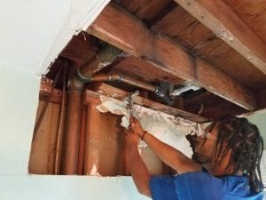 Water damage cleanup and mold removal by Fresh Start